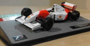 Ayrton Senna's McLaren MP4/8 - 1993