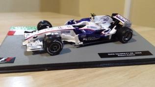 Robert Kubica's BMW Sauber F1.08 - 2008
