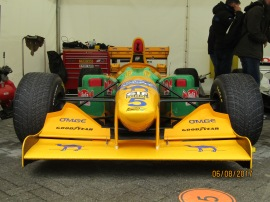 Michael Schumacher's 1993 Benetton at Ignition 2017