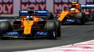 McLaren duo Sky